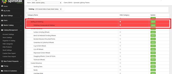 Unhide Categories Catalog Selection-1
